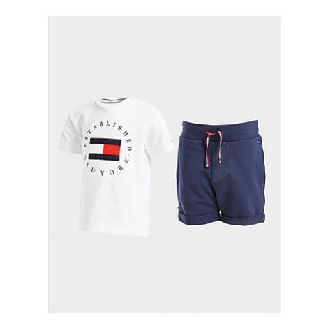 Tommy Hilfiger Circle Logo T-Shirt/Shorts Set Baby - Kinder