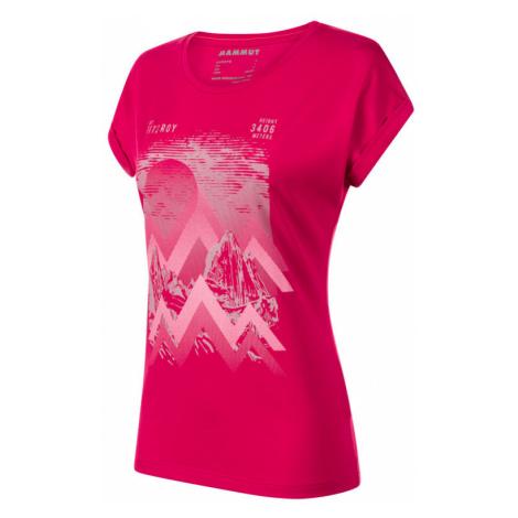 Damen T-Shirt Mammut Mountain T-Shirt Women (1017-00962) sonnenuntergang 6538