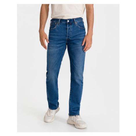 Blaue jeans straight leg für herren