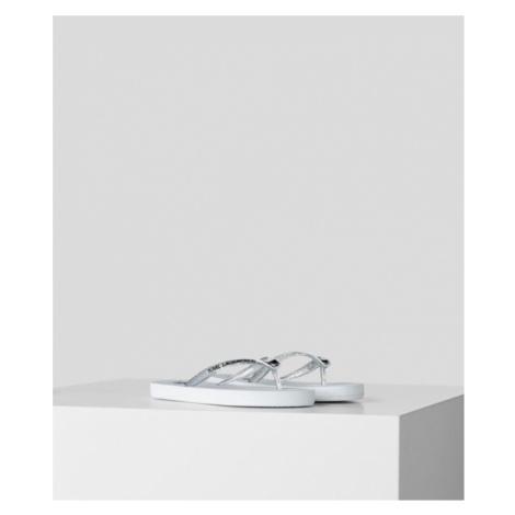 K/Ikonik Flip Flops Karl Lagerfeld