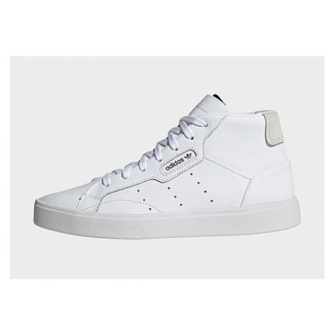 Adidas Originals Sleek Mid Schuh - Cloud White / Cloud White / Crystal White - Damen, Cloud Whit