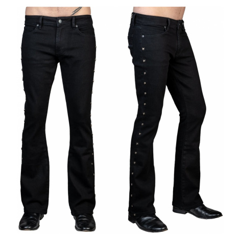 Herren Hose (Jeans) WORNSTAR - Gauntlet Skull - Schwarz - WSGP-GLTSK