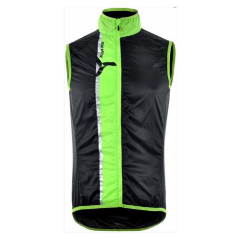 Radsport Weste Silvini GARCIA MJ803 grün/schwarz