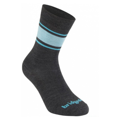Socken Bridgedale Everyday Socke / Liner Merino Endurance Boot Women's Dark grey/blue/126