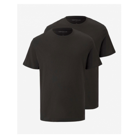 Tom Tailor T-Shirt 2 St. Schwarz