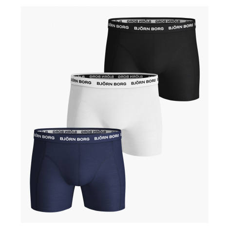 SOLID ESSENTIAL SHORTS 3-PACK Blue Depths,XXL