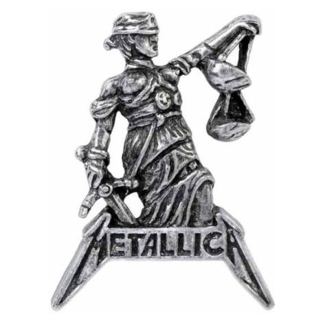Pin ALCHEMY GOTHIC - Metallica - Justiz Zum Alle - PC513