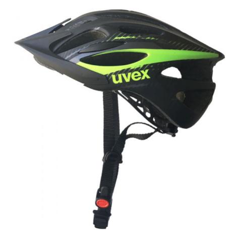 Uvex 20 FLASH schwarz - Fahrradhelm