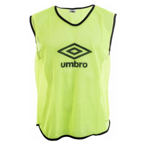 Umbro MESH TRAINING BIB - 70X65CM - Senior gelb - Trainingsleibchen