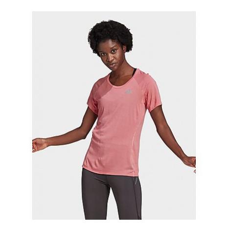 Adidas Runner T-Shirt - Hazy Rose - Damen, Hazy Rose