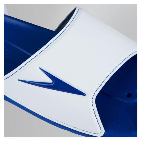 Speedo Herren Atami II Pantoffeln, Weiss/Blau