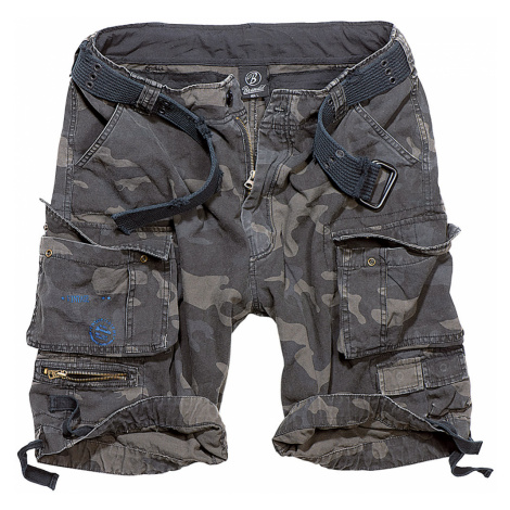 Brandit Shorts SAVAGE VINTAGE CARGO SHORTS BD2001 Darkcamo