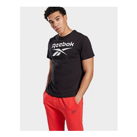Reebok graphic series reebok stacked t-shirt - Black - Herren, Black