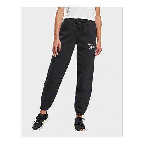 Reebok reebok identity logo fleece pants - Black - Damen, Black