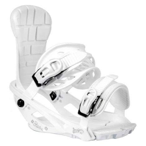 TRANS STAR W weiß - Damen Snowboardbindung