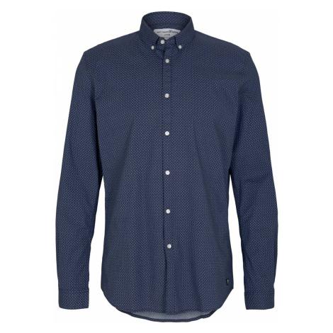 Tom Tailor Denim Herren Freizeithemd Allover Printed - Slim Fit
