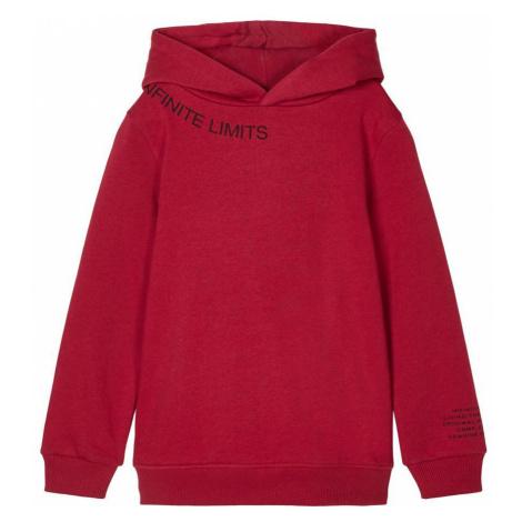 NAME IT Print Sweatshirt Herren Rot