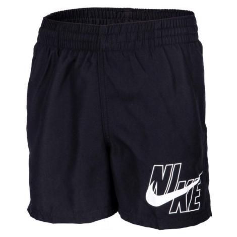 Nike LOGO SOLID LAP schwarz - Badehose für Jungs