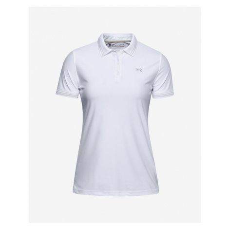 Under Armour Zinger Pique Polo T-Shirt Weiß