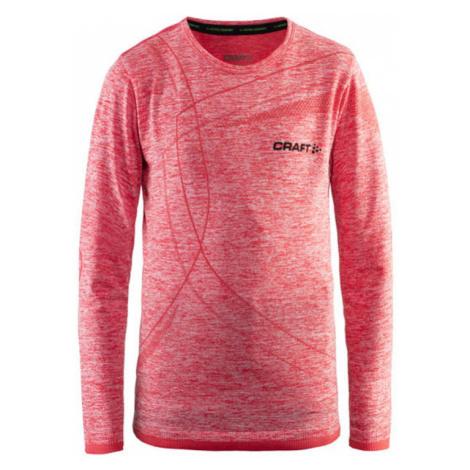 T-Shirt CRAFT Active Comfort LS 1903777-B452 - Orange