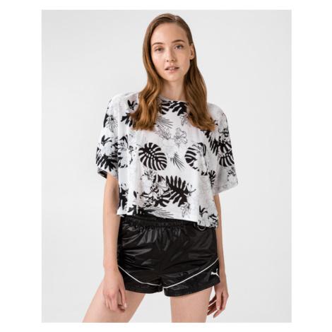 Puma Summer Fashion T-Shirt Weiß