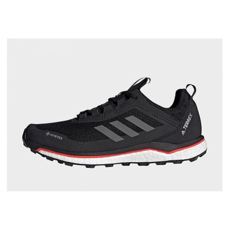 Adidas TERREX Agravic Flow GORE-TEX Trailrunning-Schuh - Core Black / Grey Four / Solar Red - He