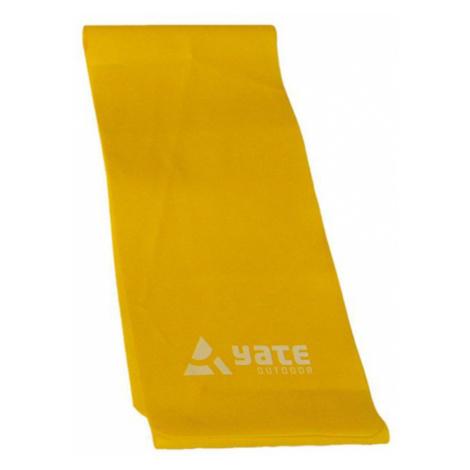 Ausbildung Gürtel Fit Band 25mX15cm, ausgereift, gelb