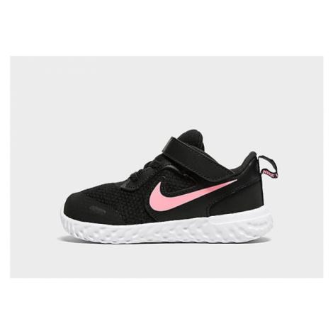 Nike Revolution 5 Baby - Black/Pink - Kinder, Black/Pink