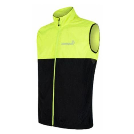 Herren Weste Sensor Neon schwarz / reflex yellow 18100040