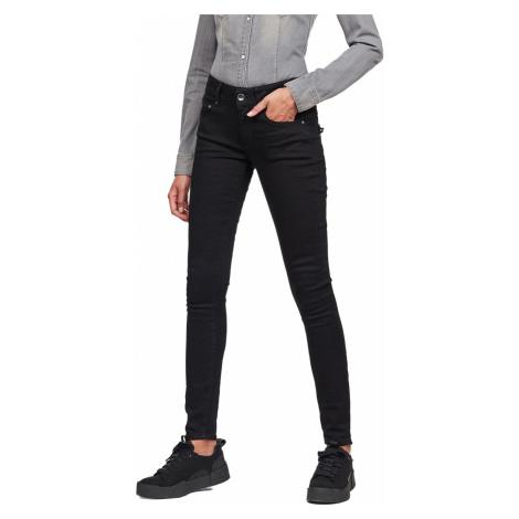 G-Star Damen Jeans Midge Cody Mid - Skinny Fit - Schwarz - Pitch Black G-Star Raw