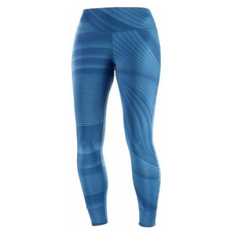 Salomon COMET TECH blau - Damen Leggings
