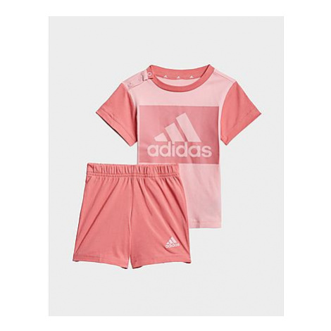 Adidas Essentials Set aus T-Shirt und Shorts - Light Pink / Hazy Rose, Light Pink / Hazy Rose