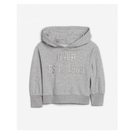 GAP Sweatshirt Kinder Grau