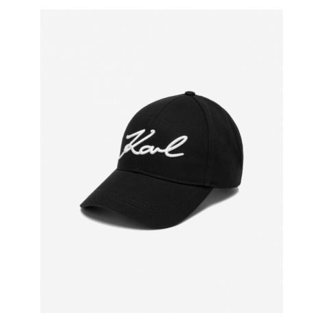 Karl Lagerfeld Signature Cap Schwarz
