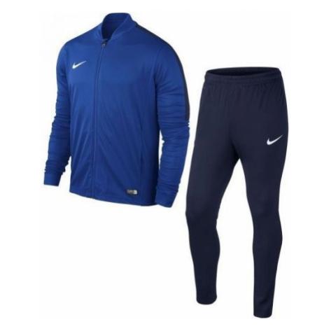 Nike ACADEMY16 YTH KNT TRACKSUIT 2 blau - Jungen Trainingsanzug