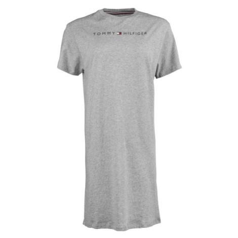 Tommy Hilfiger RN DRESS HALF SLEEVE grau - Verlängertes Damenshirt