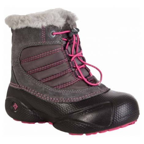 Columbia YOUTH ROPE TOW rosa - Kinder Winterschuhe