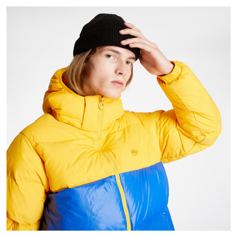 adidas Down Regen Puffer Jacket Active Gold/ Poblue