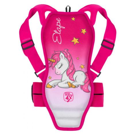 Etape BACKBONE rosa - Rückenprotektor für Kinder