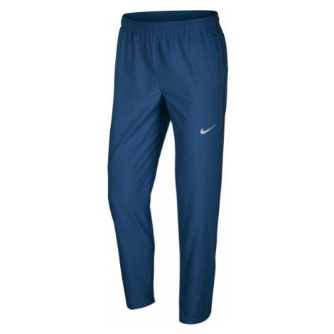 Nike RUN STRIPE WOVEN PANT M dunkelblau - Herren Laufhose