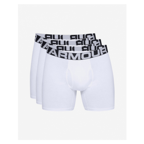 """Under Armour Charged Cotton® 6"""" Boxers 3 ks Weiß"""