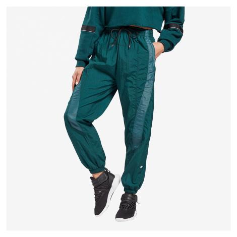 Reebok Shiny Woven Pants Forest Green