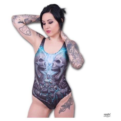 Frauen Badeanzug SPIRAL - Flaming Spine - W016G661
