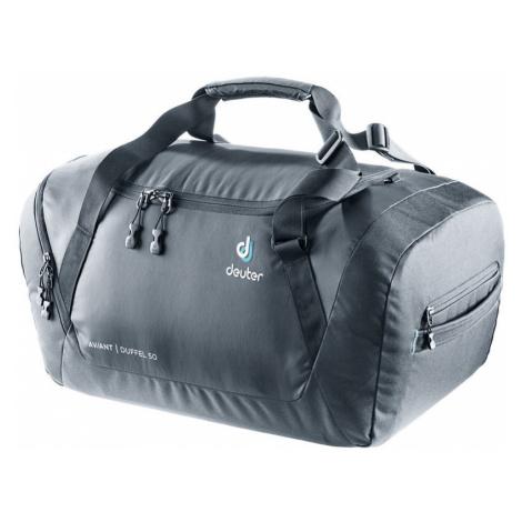 Reisen Tasche Deuter Aviant Duffel 50 black