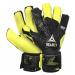 Torwart Handschuhe Select GK handschuhe 03 Youth Flat schneiden schwarz yellow