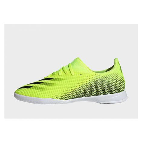 Adidas X Ghosted.3 IN Fußballschuh - Solar Yellow / Core Black / Royal Blue - Damen, Solar Yello