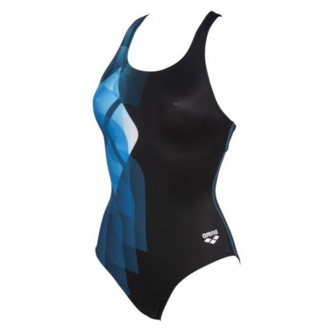 Arena MIRRORS SWIM PRO BACK ONE PIECE LB blau - Damen Badeanzug