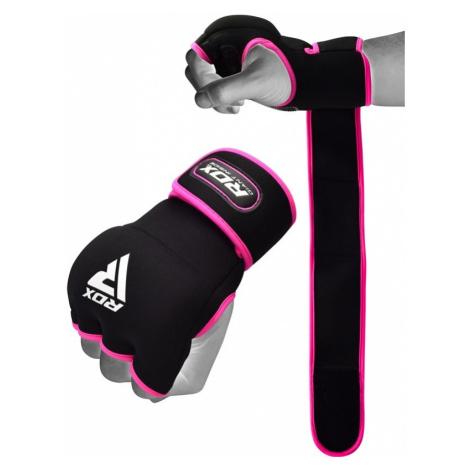 RDX X8 Rosa Boxen Gel Innenhandschuhe mit Handgelenkgurt