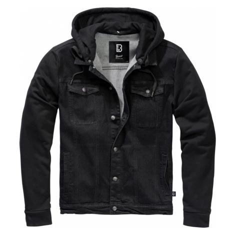 Herren Jacke BRANDIT - Cradock Denim / Schweat - 9539-black+black