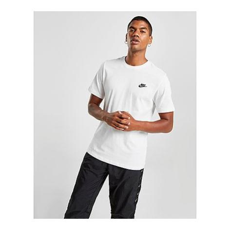 Nike Nike Sportswear Club Herren-T-Shirt - White/Black - Herren, White/Black